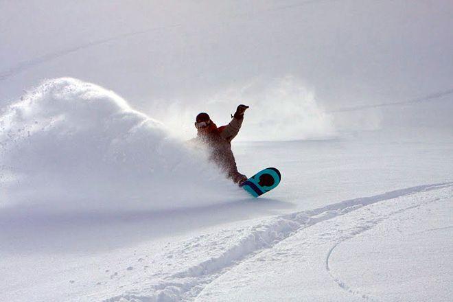 Harris Mt Heli boarding
