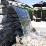 Waterfall: Spa & Pool area